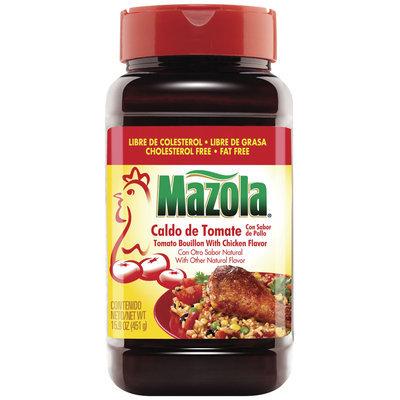Mazola Tomato W/Chicken Flavor Bouillon 15.9 Oz Plastic Jar