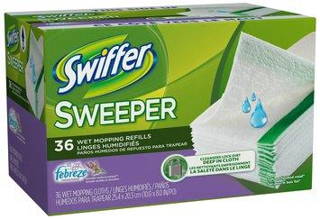 Swiffer Sweeper Febreze Lavender Vanilla & Comfort Scent Wet Mopping Pad Refills 36 ct Pack