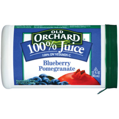 Old Orchard Premium Frozen Blueberry Pomegranate Concentrate 100% Juice 12 Fl Oz Plastic Container