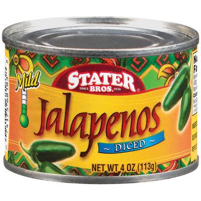 Stater Bros. Mild Diced Jalapenos 4 Oz Can