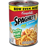 Campbells Spaghettios Pasta in Tomato and Cheese Sauce 15.8 oz.