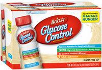 Boost Glucose Control® Very Vanilla Nutritional Drink 12-8 fl. oz. Bottles