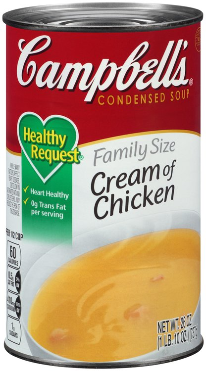 Campbell's® Healthy Request® Family Size Cream of Chicken Condensed Soup