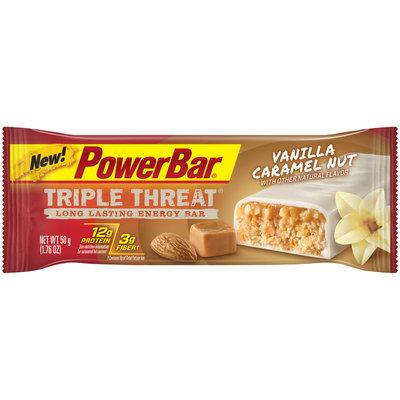 PowerBar Triple Threat Energy Bar Vanilla Caramel Nut