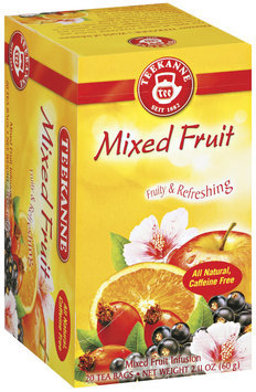 Teekanne Mixed Fruit Bags Tea 20 Ct Box