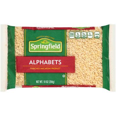 Springfield® Alphabets 10 oz. Bag