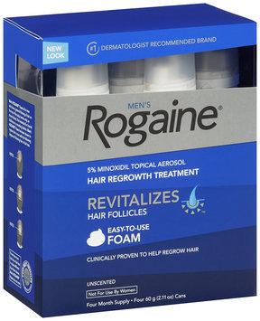 Men's Rogaine® Hair Regrowth Treatment 4 - 60 g Can