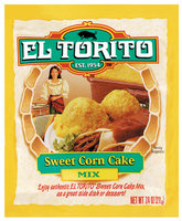 El Torito® Sweet Corn Cake Mix 7.4 oz. Packet