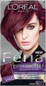 L'Oréal Paris® Feria® Multi-Faceted Shimmering Color V48 Power Violet Kit