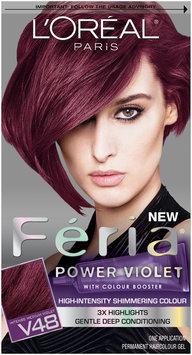 L'Oréal Paris® Feria® Multi-Faceted Shimmering Color V48 Power Violet Kit