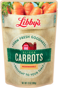 Libby's® Sliced Carrots 13 oz. Pouch