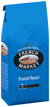 French Market® Bold French Roast Ground Coffee 12 oz. Stand-Up Bag