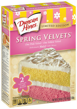Duncan Hines® Spring Velvets™ Cake Mixes