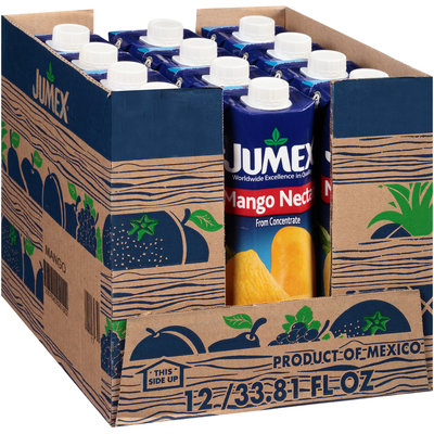 Jumex® Mango Nectar from Concentrate 12-33.81 fl oz. Cartons