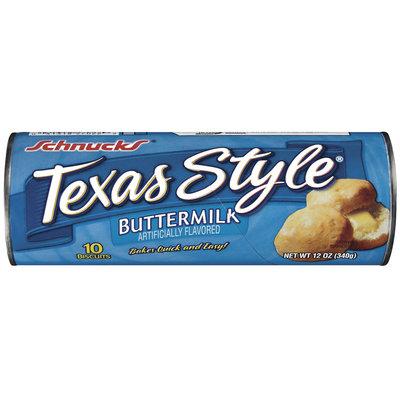 Schnucks Texas Style Buttermilk 10 Ct Biscuits 12 Oz Cylinder