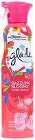 Glade® Dazzling Blooms™ Air Freshener Spray 9.7 oz. Aerosol Can