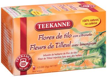 Teekanne® Linden Flowers with Lemongrass Herbal Infusion Tea 20 ct Tea Bags