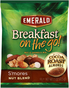 Emerald® Breakfast on the Go!™ S'mores Nut Blend Nut & Granola Mix