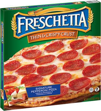 Freschetta® Signature Pepperoni Thin & Crispy Crust Pizza 14.54 oz. Box