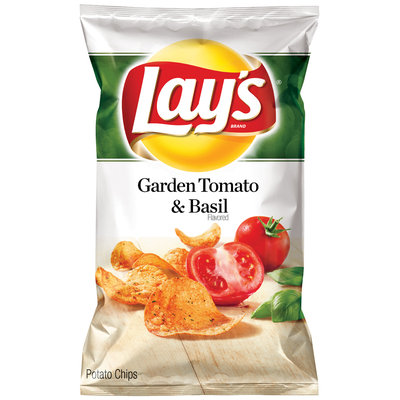 LAY'S® Garden Tomato & Basil Flavored Potato Chips