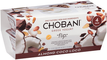 Chobani® Flip® Almond Coco Loco Greek Yogurt 4-5.3 oz. Cups