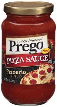 Prego 100% Natural Pizzeria Style Pizza Sauce 14 Oz Jar