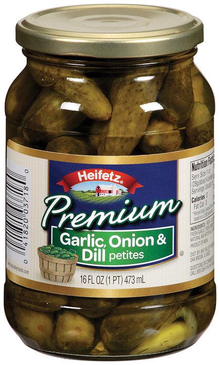 Heifetz® Premium Garlic, Onion & Dill Petites