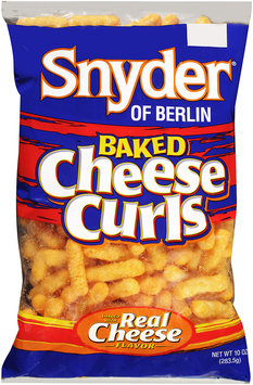 Snyder® of Berlin Cheese Curls Baked 10 oz BAG