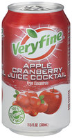 Veryfine Apple Cranberry Juice Cocktail 11.5 Oz Pull-Top Can