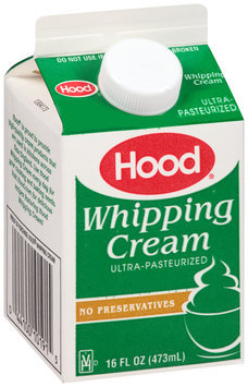 Hood® Whipping Cream 16 fl. oz. Carton
