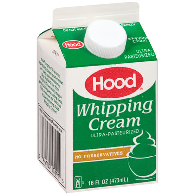 Hood® Whipping Cream 16 fl. oz. Carton