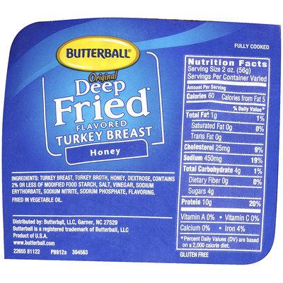 Butterball® Original Deep Fried Flavored Honey Turkey Breast