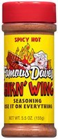 Famous Dave's® Spicy Hot Chikn' Wing Seasoning Shaker 5.5 oz.