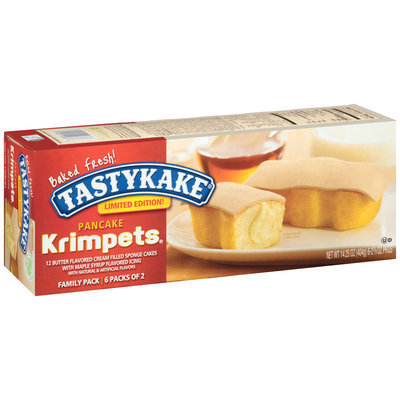 Tastykake® Limited Edition! Pancake Krimpets®