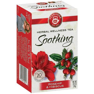 Teekanne Rosehip & Hibiscus Caffeine Free  1.41 Oz Tea Bags 20 Ct Box