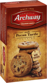 Archway® Soft Pecan Turtle Cookies 9 oz. Box