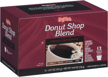 Hy-Vee® Donut Shop Blend Single Serve Cup Coffee 12 ct Box