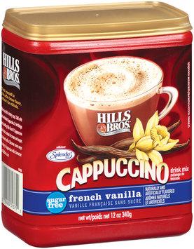 Hills Bros Sugar Free French Vanilla - Cappuccino Drink Mix