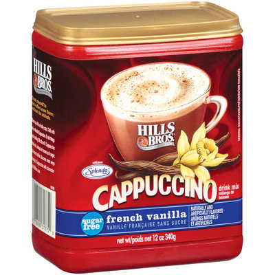 Hills Bros Sugar Free French Vanilla - Cappuccino Drink Mix