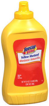 Special Value Yellow Mustard 24 oz. Bottle