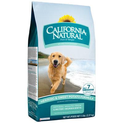 California Natural® Herring & Sweet Potato Formula Adult Dog Food 5 lb. Bag