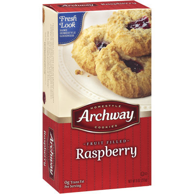 Archway Fruit Filled Raspberry Cookies 9OZ BOX