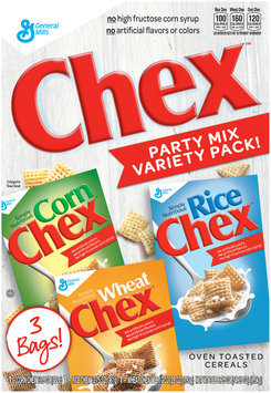 Corn/Rice/Wheat Chex™ Cereal Party Mix Variety Pack 54.25 oz. Box