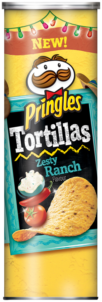 Pringles® Tortillas Zesty Ranch Tortilla Crisps