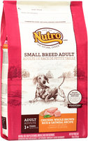 Nutro® Small Breed Adult Chicken, Whole Brown Rice & Oatmeal Recipe Dog Food 8 lb. Bag