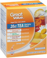 Great Value™ Tea Variety Pack Drink Mix 20-1.55 oz. Packets