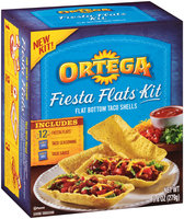 Ortega® Fiesta Flats™ Taco Kit 9.8 oz. Box