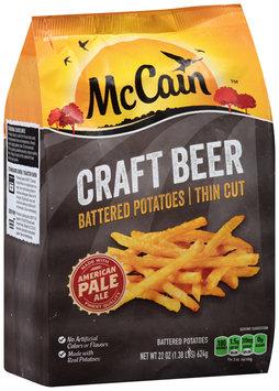 McCain® Craft Beer Battered Thin Cut Fries 22 oz. Bag