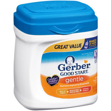 Gerber® Good Start® Gentle Infant Formula with Iron Milk Based Powder 32 oz. Container