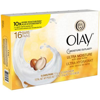 Olay Ultra Moisture Beauty Bar With Shea Butter 16-4.0 oz. Bars
